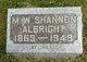 Martha Washington Shannon <I>Truitt</I> Albright