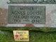 Agnes Louise <I>Daffinson</I> Clark