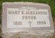 Mary Ellen <I>Glahn</I> Alexander Pryor