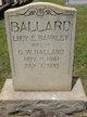 Lucy Emma <I>Barkley</I> Ballard