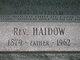 Profile photo: Rev Haidow Ablahat