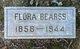 Profile photo:  Flora Bearss