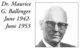Dr Maurice G Ballenger, Sr