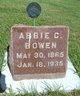 Profile photo:  Abigail Lois <I>Clark</I> Bowen