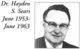 Dr Hayden Swift Sears
