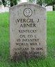 Profile photo:  Vergil Joseph Abner