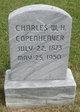 Profile photo:  Charles W.H. Copenheaver