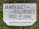 Profile photo:  Margaret Catherine <I>Schneider</I> Baldinger
