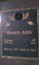 Profile photo:  Hamid Adib