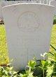 Private William John Lindley