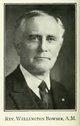 Rev Wellington Bowser