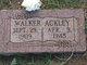 Profile photo:  Walker A Ackley