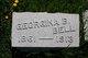 Georgina Julia <I>Burlingim</I> Bell