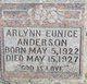 Arlynn Eunice Anderson