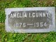 Profile photo:  Amelia Irene <I>Mark</I> Cunny