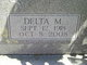 Profile photo:  Delta M Blanton