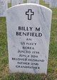 Profile photo:  Billy Murrell Benfield