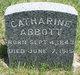 Profile photo:  Catharine Elmira <I>Bartholomew</I> Abbott