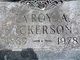 Profile photo:  LaRoy A. Ackerson