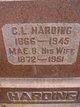 Mae Belle <I>Tedrick</I> Harding