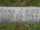 Emma Jane <I>Boyle</I> Wier