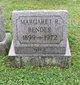 Profile photo:  Margaret R <I>Hamilton</I> Bender