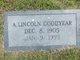 Profile photo:  A Lincoln Goodyear