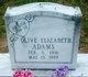 Olive Elizabeth Adams