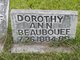 Profile photo:  Dorothy Ann Beaubouef