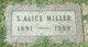 Sarah Alice <I>Yealick</I> Miller