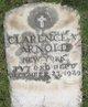 PVT Clarence V Arnold