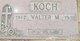 Walter M. Koch
