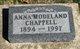 AnnaBelle Ida <I>Modeland</I> Chappell