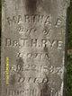 Martha E Rye