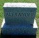 Profile photo:  Melvina Jane Alexander