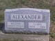"Profile photo:  Clara E. ""Clary"" <I>Sebring</I> Alexander"