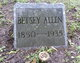 Betsy A Allen