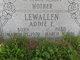 Addie Edna <I>Seymour</I> Lewallen