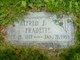 Profile photo:  Alfred Joseph Fradette
