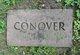 Profile photo:  Conover