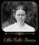 Ollie Belle <I>Aaron</I> Hartwick