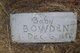 Baby Bowden