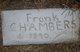 Frank Chambers