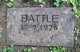 Profile photo:  Battle