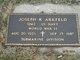 """Joseph Rupert """"Joe"""" Arkfeld"""