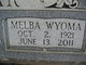 Profile photo:  Melba Wyoma <I>Westberry</I> Dollar