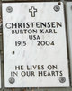 Profile photo:  Burton Karl Christensen