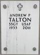 Profile photo:  Andrew P Talton
