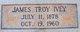 James Troy Ivey