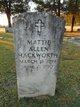 Mattie Allen <I>Allen</I> Hackworth
